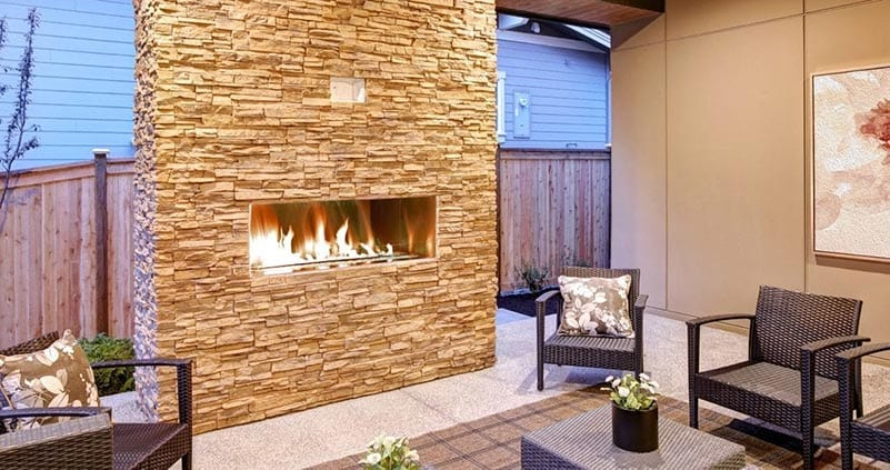 Four Tips on How to Share Your Outdoor Fireplace While Social Distancing