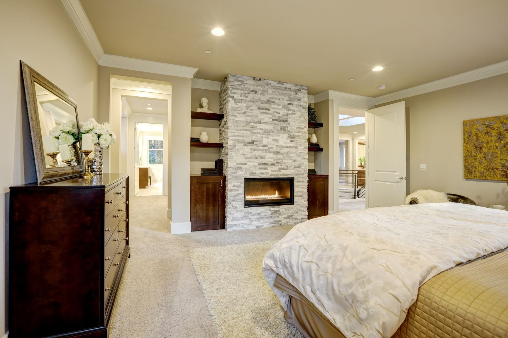 Where to Place a Gas Fireplace