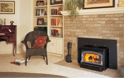 Do You Need a Wood Fireplace Insert? Function, Cost, Design Ideas, and More
