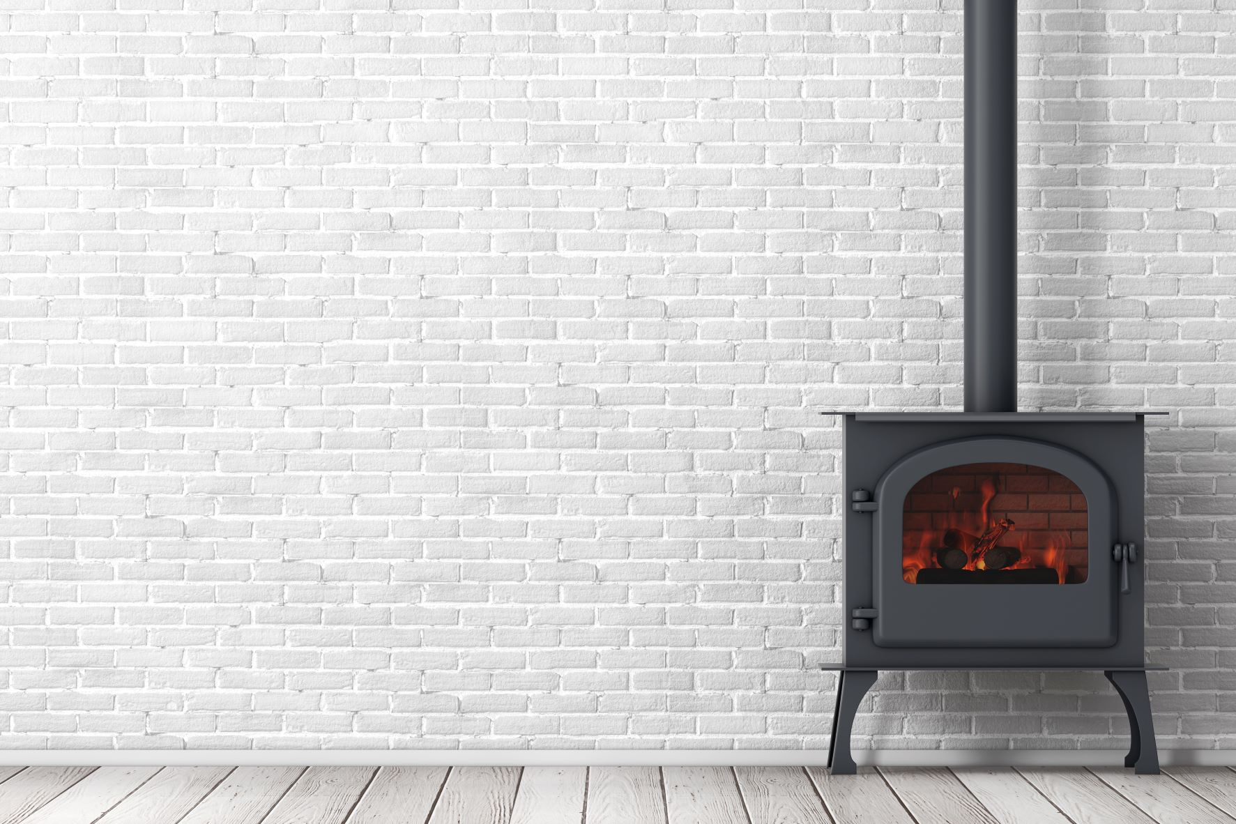 free standing gas fireplace traditional styling