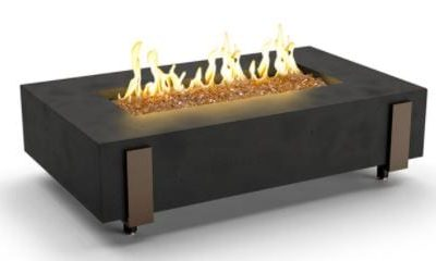 American Fyre Designs Iron Saddle Fire table