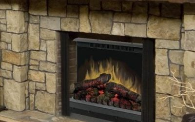 Dimplex Deluxe 23″ Log Set Electric Fireplace Insert